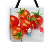 Chefs And Cherry Tomatoes Tote Bag