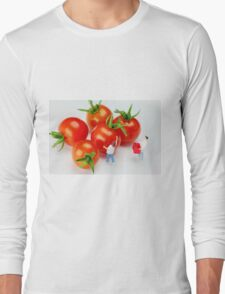 Chefs And Cherry Tomatoes Long Sleeve T-Shirt