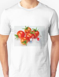 Chefs And Cherry Tomatoes Unisex T-Shirt