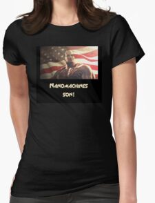 Nanomachines son! Womens Fitted T-Shirt