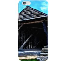 Ackley Covered Bridge iPhone Case/Skin