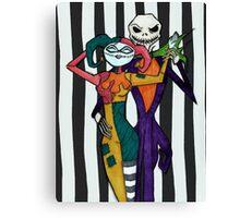 Alex Ross inspired NBC Canvas Print