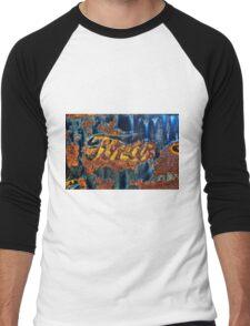 Vintage Ford Truck Tailgate Logo Men's Baseball ¾ T-Shirt