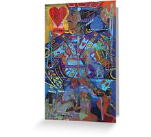 Jack of Lonely Hearts Greeting Card