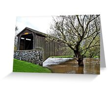 Hunsecker's Mill Covered Bridge Greeting Card