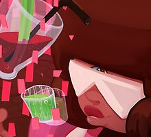 Steven Universe: Garnet's Drinks by PhantomNight