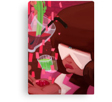 Steven Universe: Garnet's Drinks Canvas Print