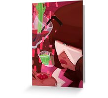 Steven Universe: Garnet's Drinks Greeting Card