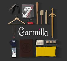 Carmilla Items by CLMdesign