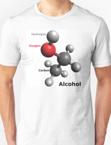 Alcohol Molecule - Drink up! T-Shirt