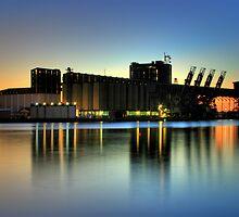 Newcastle Docks by Steve D