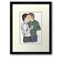 Destiel Dance Framed Print
