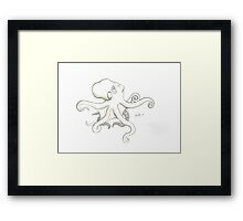 Simply O Framed Print