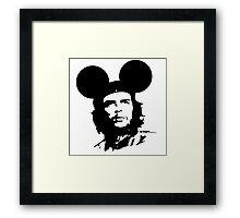 Che-Burashka - Che Guevara - Che Mickey - Revolution Framed Print