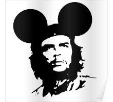 Che-Burashka - Che Guevara - Che Mickey - Revolution Poster
