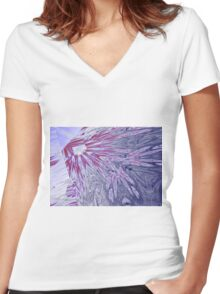 ice Women's Fitted V-Neck T-Shirt
