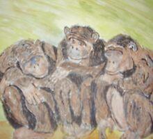 Dozy Chimps by GEORGE SANDERSON
