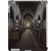 Inside St Saviour's Cathedral (3) iPad Case/Skin