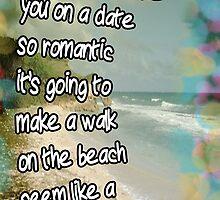 Dangerous Walk on the Beach - Valentine by VeeGiggity