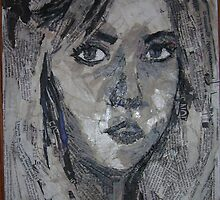 Self Portrait by scarletmoon