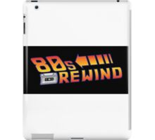 Back to the 80's iPad Case/Skin