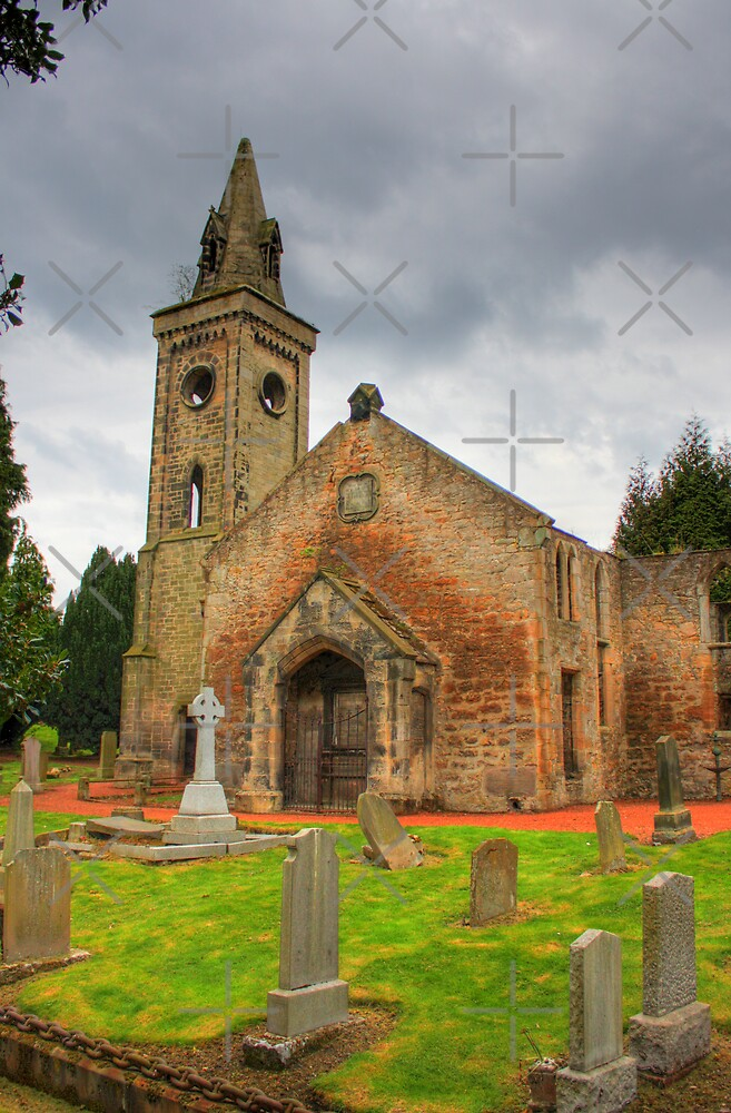 Carriden Old Church by Tom Gomez