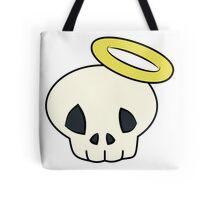 Skull n' Halo Tote Bag
