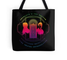 CONSULTING DETECTIVE & TIME TRAVEL INVESTIGATOR RAINBOW VERSION Tote Bag