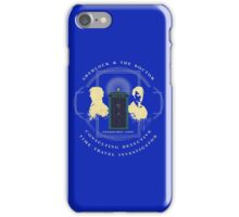 CONSULTING DETECTIVE & TIME TRAVEL INVESTIGATOR   iPhone Case/Skin