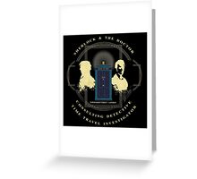 CONSULTING DETECTIVE & TIME TRAVEL INVESTIGATOR   Greeting Card