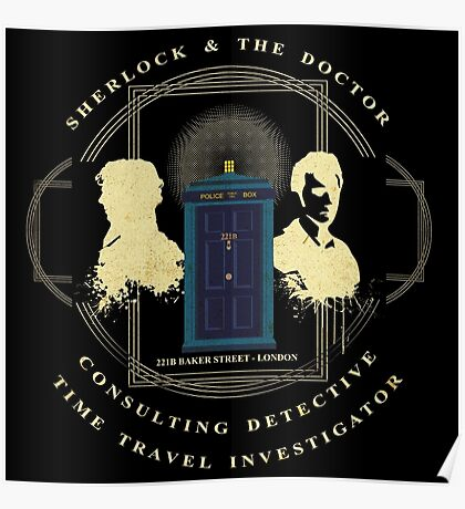 CONSULTING DETECTIVE & TIME TRAVEL INVESTIGATOR   Poster