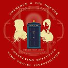CONSULTING DETECTIVE & TIME TRAVEL INVESTIGATOR   by karmadesigner