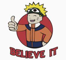 Believe it! Fallout - Naruto Mashup by SwankyOctopus
