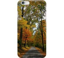 A Perfect Autumn Day iPhone Case/Skin