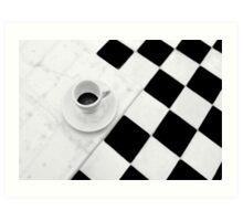 Cafe Noir Art Print