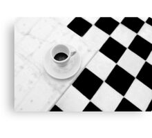 Cafe Noir Canvas Print