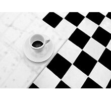 Cafe Noir Photographic Print