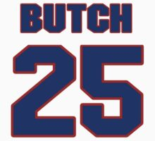 National football player Butch Woolfolk jersey 25 by imsport