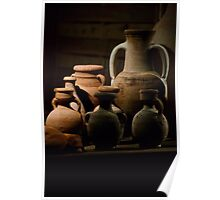 Pots of clay Poster