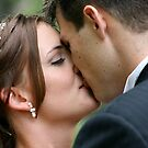 First Kiss as Man and Wife  by tess1731