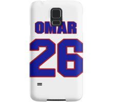 National football player Omar Stoutmire jersey 26 Samsung Galaxy Case/Skin