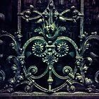 Old ornamented gate by JBlaminsky