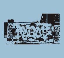 Graffiti  One Piece - Short Sleeve
