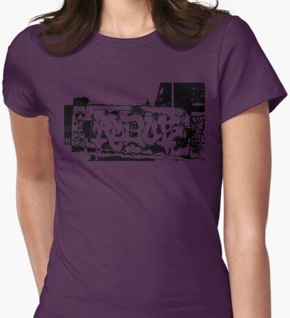 Graffiti  Womens Fitted T-Shirt