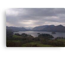 Lake Derwent, Cumbria. Canvas Print