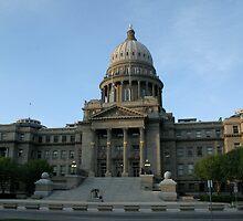 Idaho's capital by Keeton Gale