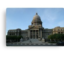 Idaho's capital Canvas Print