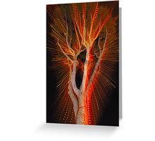 Trippy Tree Greeting Card