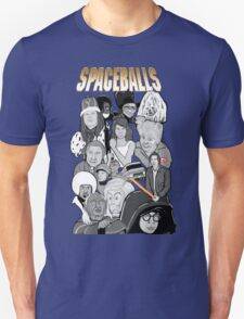 spaceballs character collage T-Shirt