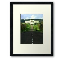 Stormont ... government buildings NI Framed Print
